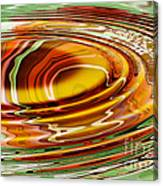 Rippled Abstract Canvas Print