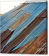 Rippled Roof  Canvas Print