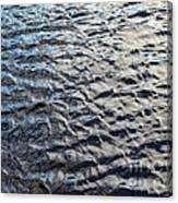Ripples On Big Water Canvas Print
