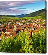 Riquewihr Alsace Canvas Print