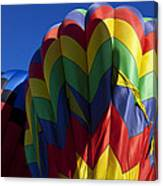 Rising Hot Air Balloons Canvas Print