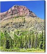 Rising Wolf Mountain Canvas Print