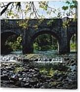 River Annalee, Ballyhaise, Co Cavan Canvas Print