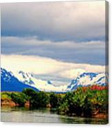 River Bend Canvas Print