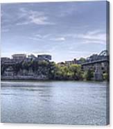 River Bluff Canvas Print