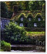 River Cottage Canvas Print