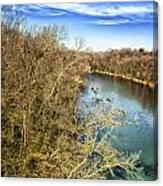 River Crossing Virginia Canvas Print