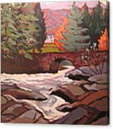 River Dochart Killin Canvas Print