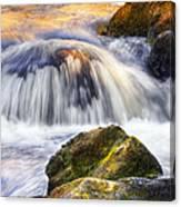River Flows 03 Canvas Print