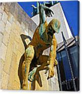 River God Tyne Sculpture IIi Canvas Print