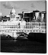 River Liffey Dublin City Center Canvas Print
