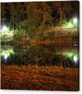 River Night Smooth Canvas Print