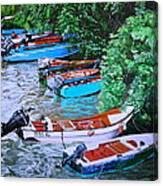 River Rainbow Canvas Print