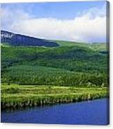 River Roe, Binevenagh, Co Derry Canvas Print
