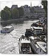 River Seine. Paris Canvas Print