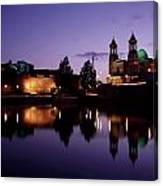River Shannon, Athlone, County Canvas Print