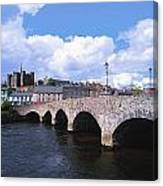 River Slaney, Enniscorthy, Co Wexford Canvas Print