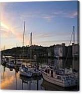 River Suir, From Millenium Plaza Canvas Print