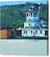 River Transportation Canvas Print