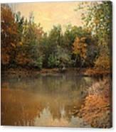 Riverbank 2 Canvas Print