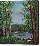 Riverbend Park Canvas Print