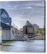Riverfront Canvas Print