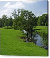 Riverside Meadows - Ashford-in-the-water Canvas Print