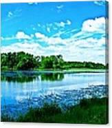Riveside Park 6 Canvas Print
