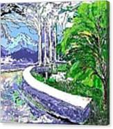 Road End Canvas Print