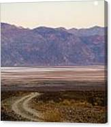 Road Through Death Valley Canvas Print