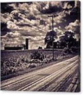 Road To Nowhere 2 Canvas Print