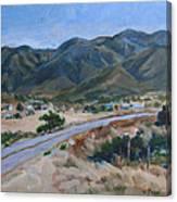 Road To Punta Banda Canvas Print