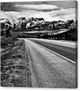 Road To Rocks  Canvas Print