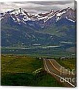 Road To The Sangre De Cristos Canvas Print