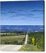 Road To The Valley Canvas Print