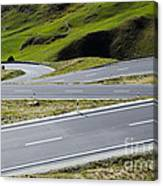 Road With Curves Canvas Print