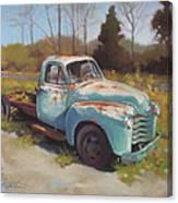 Roadside Relic Canvas Print