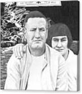 Robert And Theresa Lewis Canvas Print