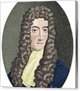 Robert Boyle, British Chemist Canvas Print