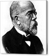 Robert Koch, German Microbiologist Canvas Print