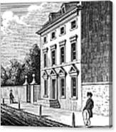 Robert Morris House Canvas Print