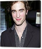 Robert Pattinson At Arrivals For Harry Canvas Print