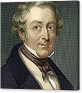 Robert Peel, British Prime Minister Canvas Print