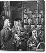 Robert Walpole (1676-1745) Canvas Print