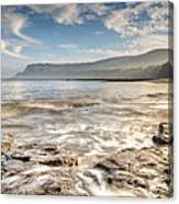 Robin Hood's Bay Breakers Canvas Print