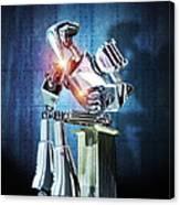 Robot Intelligence Canvas Print
