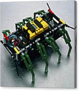 Robot Spider Constructed From Lego Canvas Print