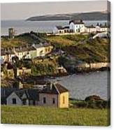 Roches Point Lighthouse In Cork Harbour Canvas Print