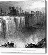 Rochester: Genesee Falls Canvas Print