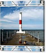 Rochester New York Harbor Lighthouse Canvas Print